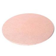 "Round Masonite Cake Board - ROSE GOLD 14"" / 35cm"