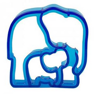 Themed Sandwich Cutters - ELEPHANTS