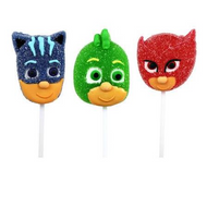 Lollipop 3pk - PJ MASKS
