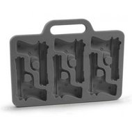Chocolate Mold 6 Cavity - Pistols / Guns