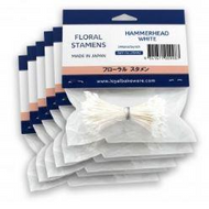 LOYAL Floral Stamens - HAMMERHEAD WHITE