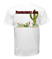 White Men's Cactus shirt