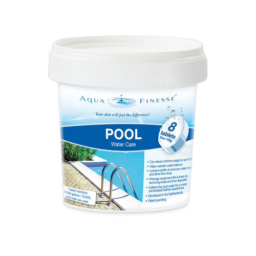 Aqua Finesse Pool Tablets Starter 8 Tab Pail