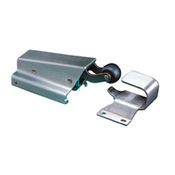 CHG W95 Concealed Mount Spring Action Door Closer - Hook - Flush - Satin Stainless Steel - W95-1010