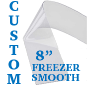 """Custom Replacement Strip - 8"""" Wide - Freezer, Smooth"""