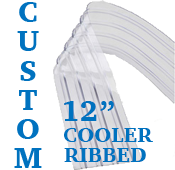 "Custom Replacement Strip - 12"" Wide - Cooler, Ribbed"