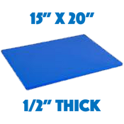 Blue Standard Cutting Board - 15 x 20