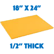 Yellow Standard Cutting Board - 18 x 24