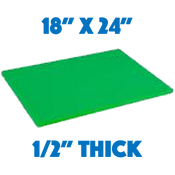 Green Standard Cutting Board - 18 x 24