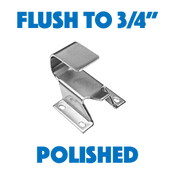 Kason - Hook, Adj, Wide, Flush to 3/4, Chr - 11094000026 - KSN11094000026