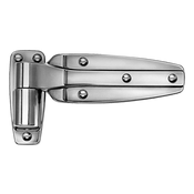 Kason - Hinge Brushed Chrome Flush R.h - 11245000088 - KSN11245000088