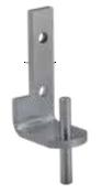 Kason 1556 Pivot Hinge Brackets - Pivot Flange - Center  - 11556000203F