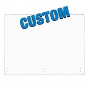 Custom Size Acrylic Safety Barrier (GGCSASB)