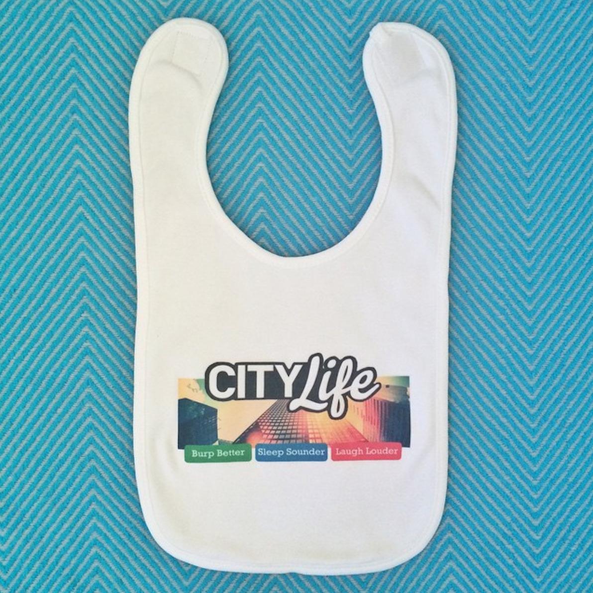 A Design Your Own Bib - City Life
