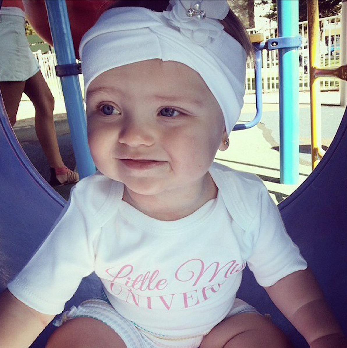 Baby onesie design request - Little Miss Universe