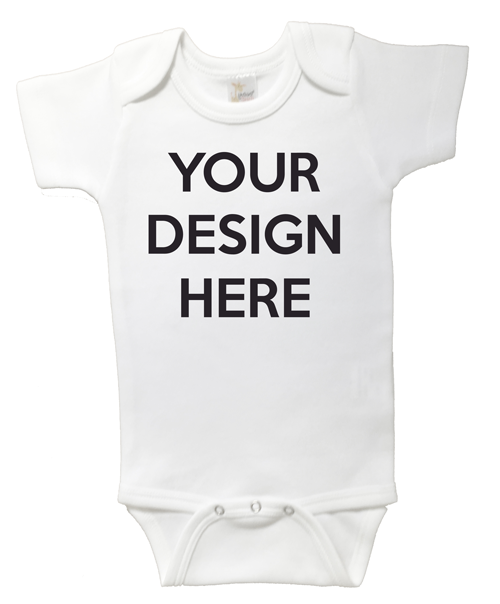 0317eab77 Design Your Own Baby Onesie | Personalized Products | Word On