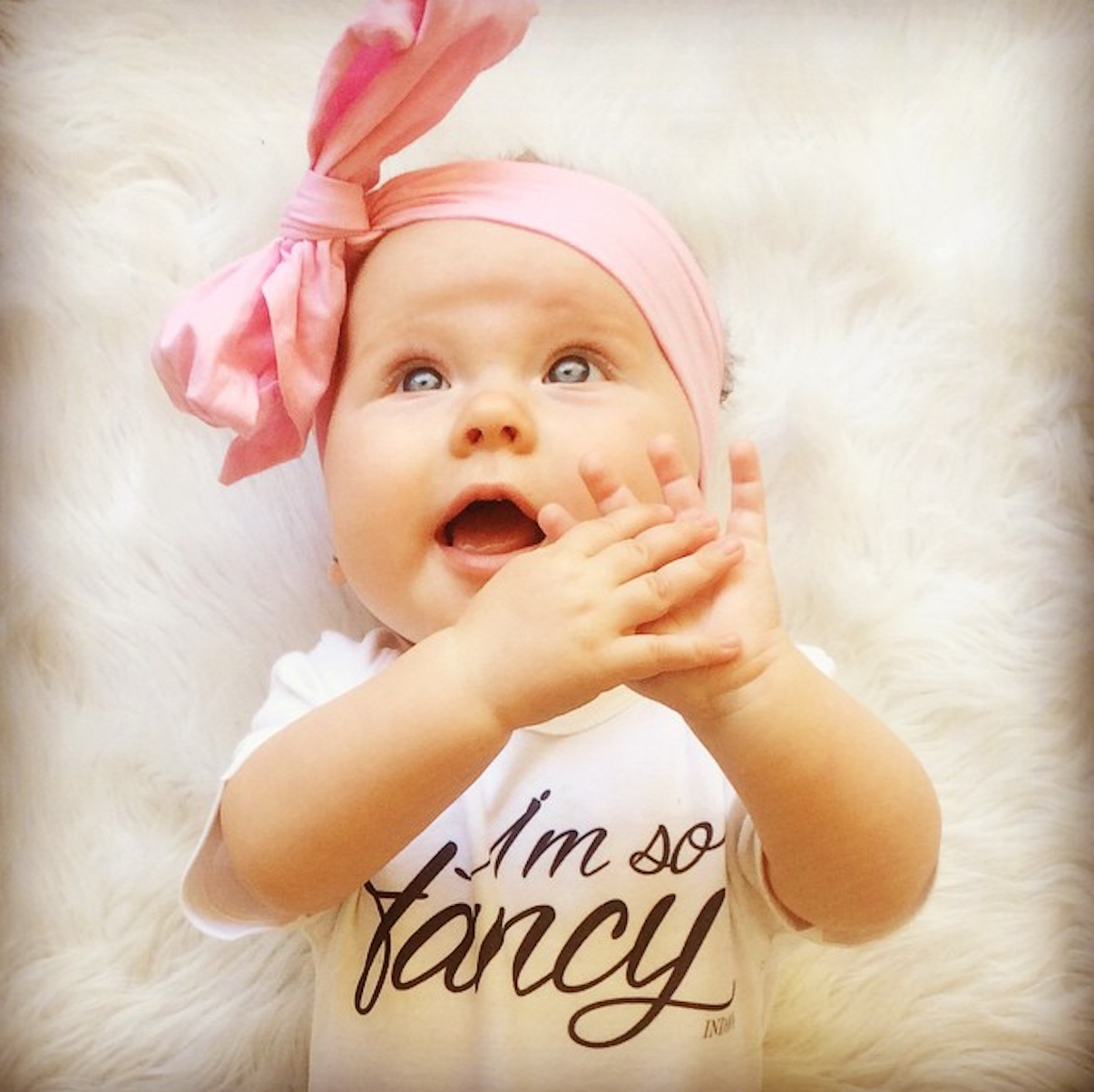 b59a44c87566 I m So Fancy Personalised Baby Onesie