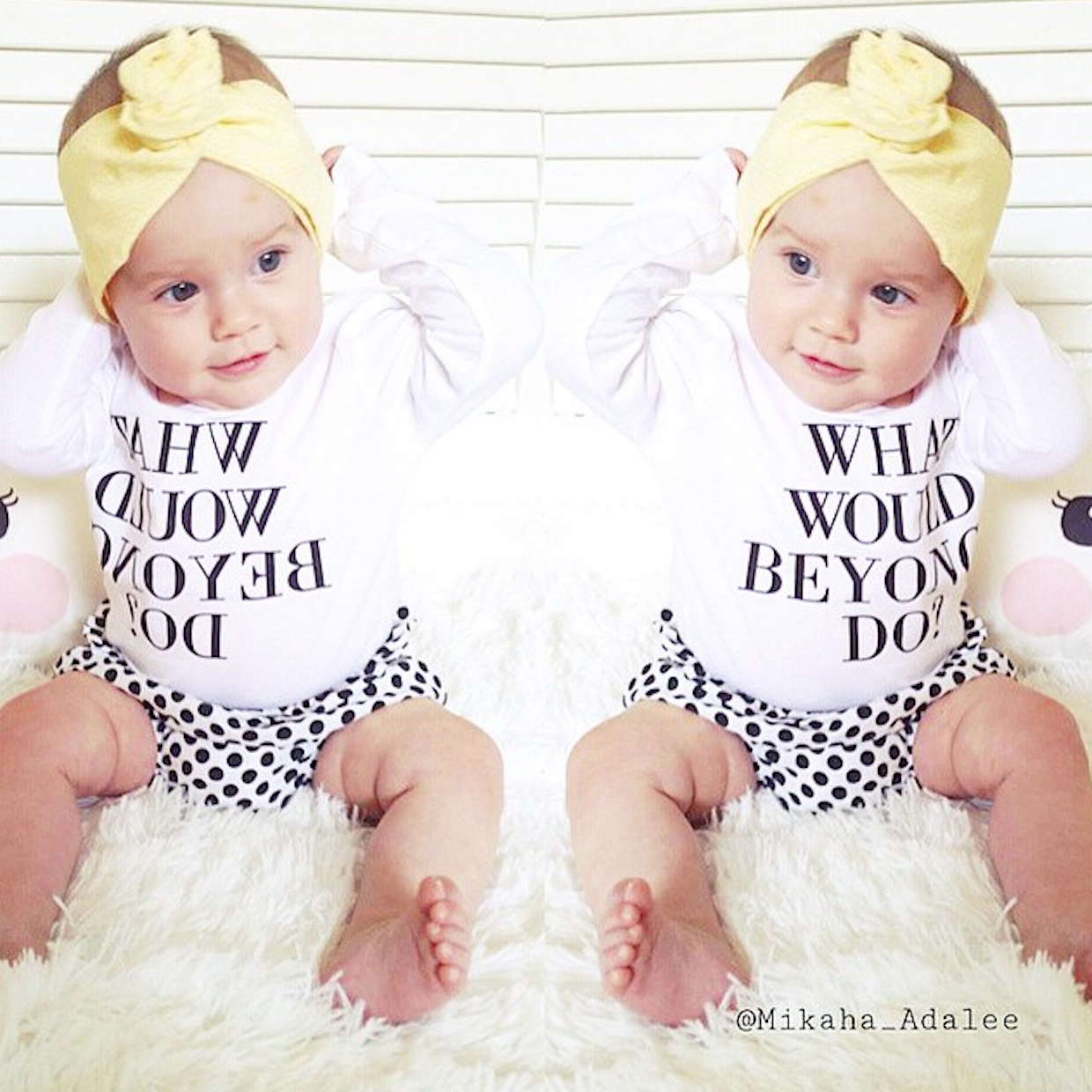 What would Beyonce do? long sleeve onesie