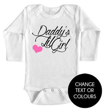 Daddy's Lil Girl long onesie