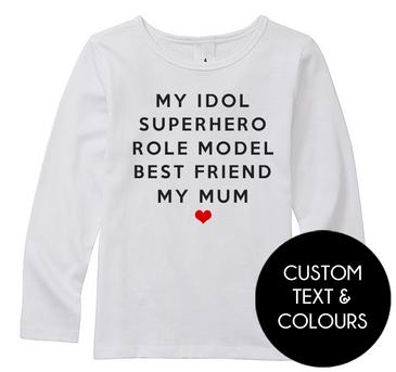 MY IDOL, SUPERHERO, ROLE MODEL, BEST FRIEND, MY MUM top