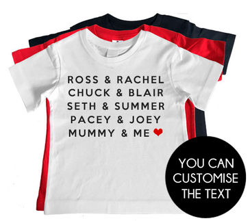 TV COUPLES t-shirt