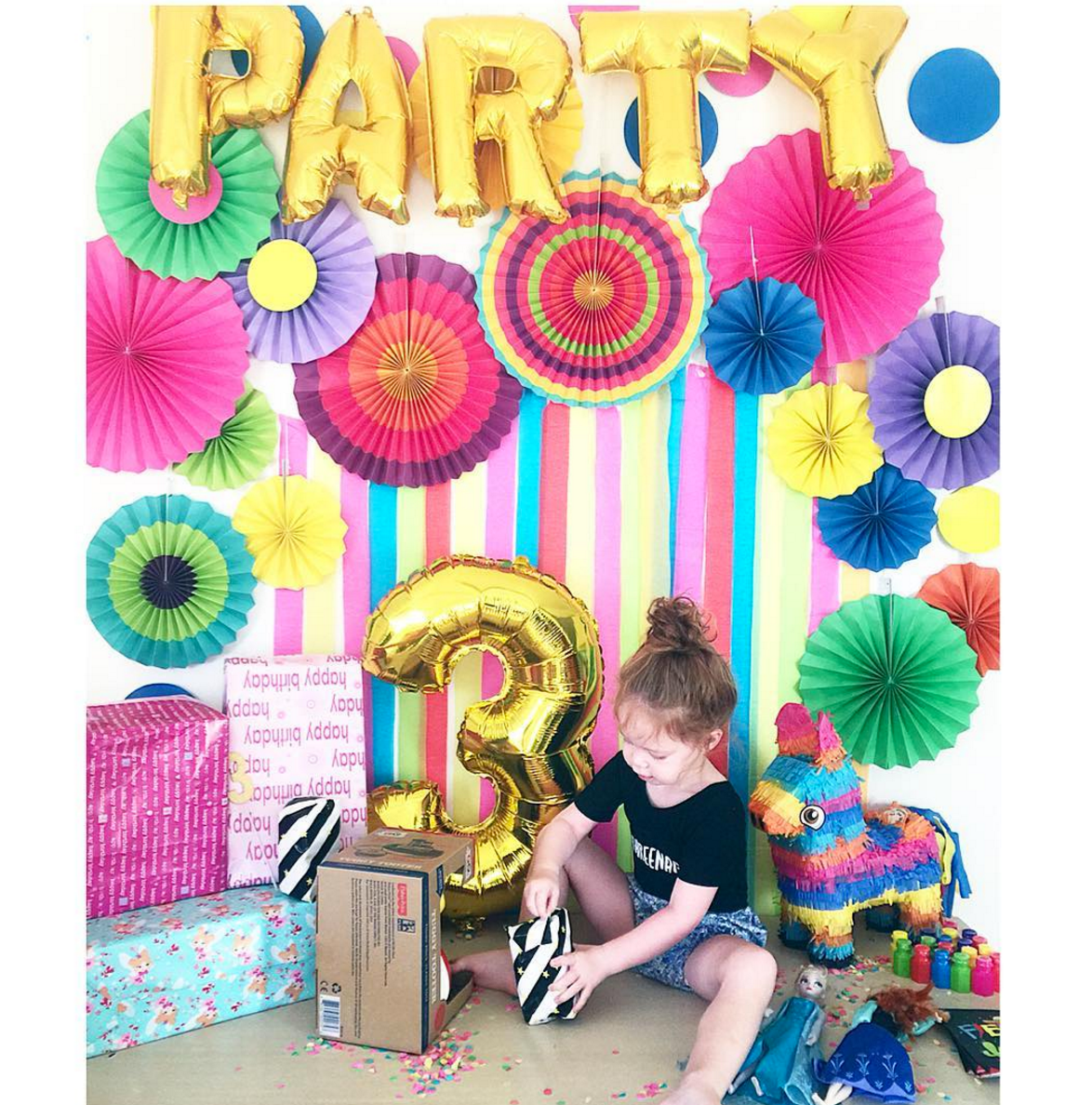 #THREENAGER leotard to celebrate Evie's third birthday! @sheloveslaughslives