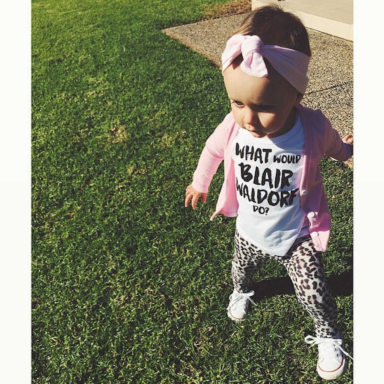 What would Blair Waldorf do top on Harper from @nightingalejj