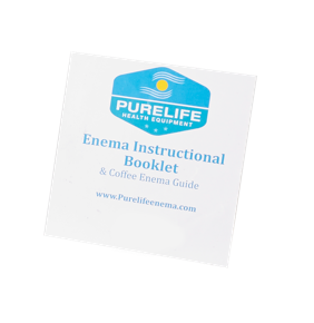 enema instruction guide enema booklet purelife enema instructions