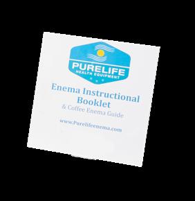 enema instruction guide enema booklet purelife enema instructions