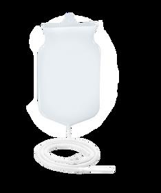 3 5 qt plastic enema bucket kit with pvc tubing harness. Black Bedroom Furniture Sets. Home Design Ideas