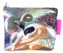 Tretchikoff Dying Swan Cosmetic Bag