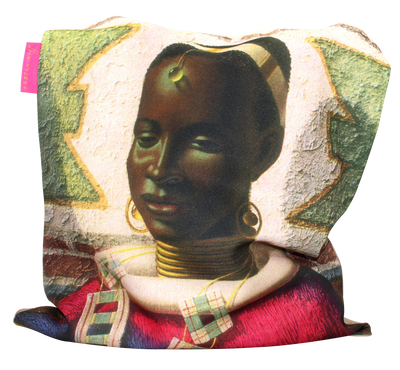 Tretchikoff 'Woman of Ndebele' Tote Bag