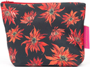 Tretchikoff Red Poinsettias Cosmetic Bag