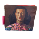 Tretchikoff Chinese Girl Blue Jacket Cosmetic Bag