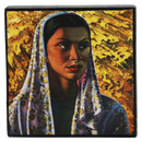 Tretchikoff Malay Bride Mini Canvas