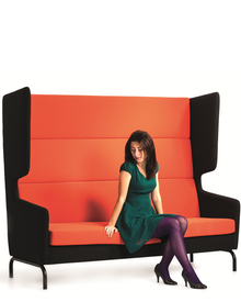 Techo Versis High Back Sofa