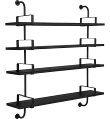 Gubi Demon Shelving - 4 Shelves 155cm