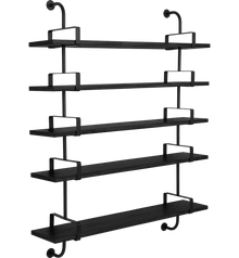 Gubi Demon Shelving - 5 Shelves 155cm