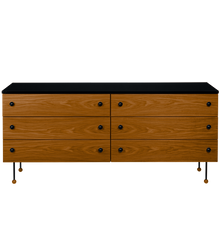 Gubi 62 DRESSER - 6 DRAWERS