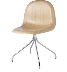 Gubi 3D Chair - Swivel Base