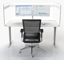 Think Protective Wraparound Desk Screen