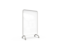Lintex Frame Mobile Whiteboard - Grey frame