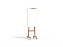 Lintex Wood Mobile Whiteboard - 708x1960x500mm