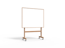 Lintex Wood Mobile Whiteboard - 1508x1960x500mm