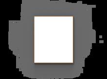 Lintex Wood Whiteboard - 1008x1208mm
