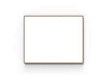 Lintex Wood Whiteboard - 1508x1208mm