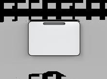 Lintex Note Whiteboard - 1205x805mm