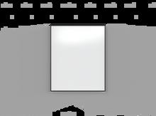 Lintex ONE Whiteboard - 1007x1207mm