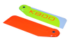"KBDD 95mm Carbon Fiber ""Extreme Edition"" Tail Blades - GOBLIN 570"