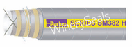 "1.5"" Reinforced Gray EPDM Suction Hose"
